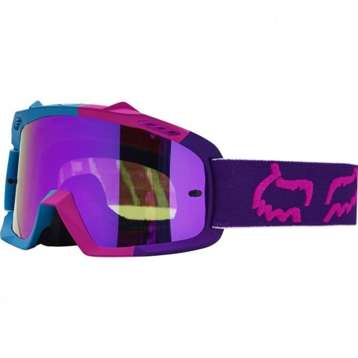 Очки кросс, подростковые FOX Air Space, сине/фиолетовый