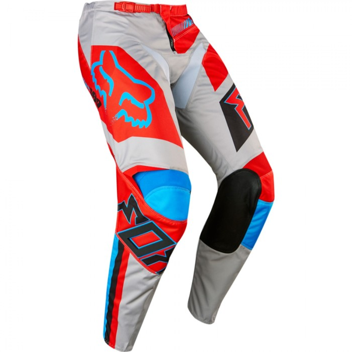 Штаны FOX 180 Falcon, красно-серые,  размер 34