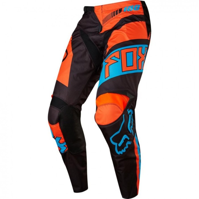 Штаны FOX 180 Falcon, красно-оранжевые, размер 32