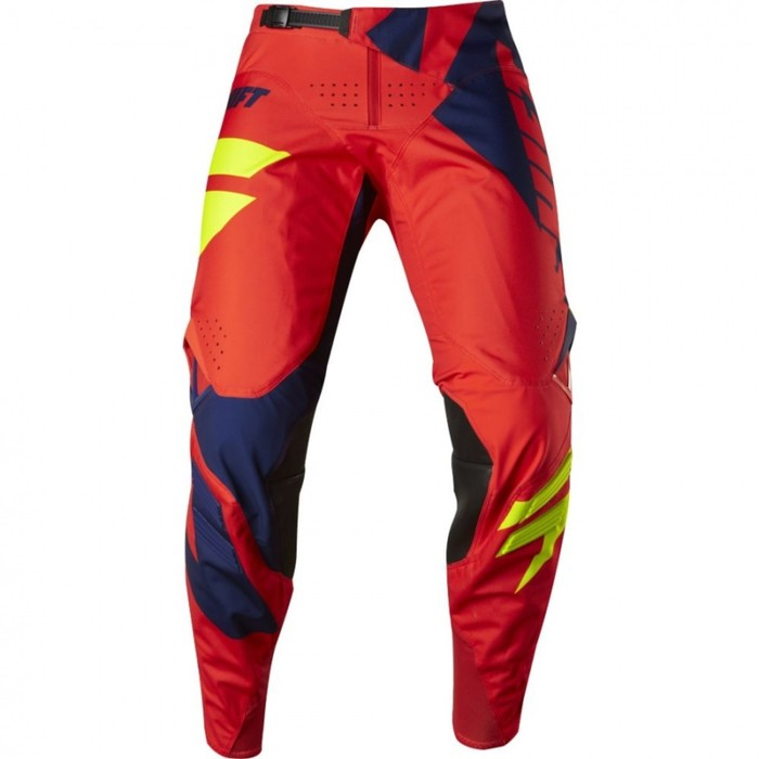 Штаны SHIFT Black Мainline Pant, красно/синий, размер 34