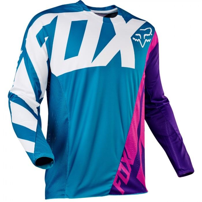 Джерси подростковая FOX 360 Creo, сине/фиолетовый, размер XL