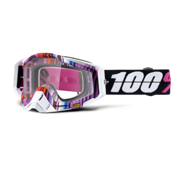 Очки кросс 100% Racecraft Glith, прозрачная линза