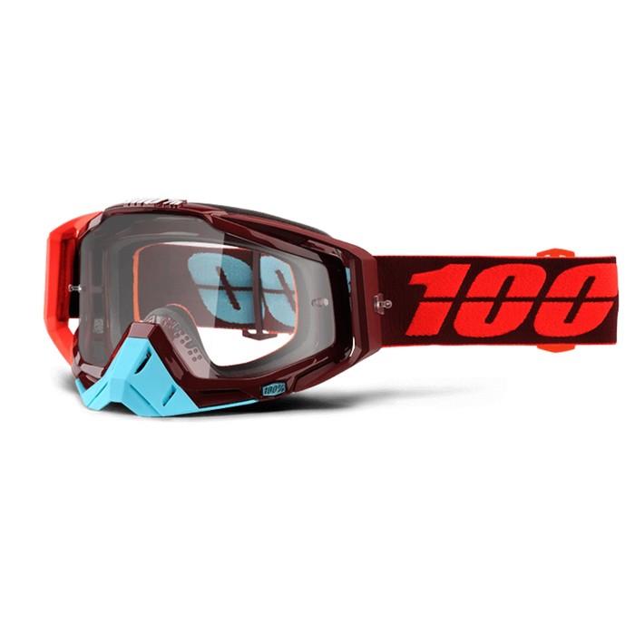 Очки кросс 100% Racecraft Kikass, прозрачная линза