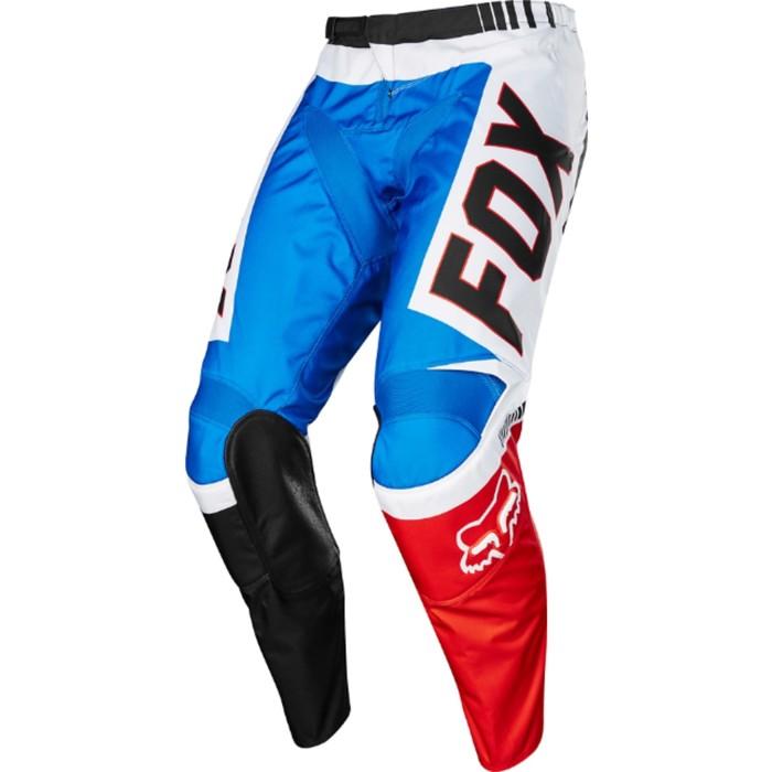 Штаны FOX 180 Fiend SE, красно-синие, размер 32
