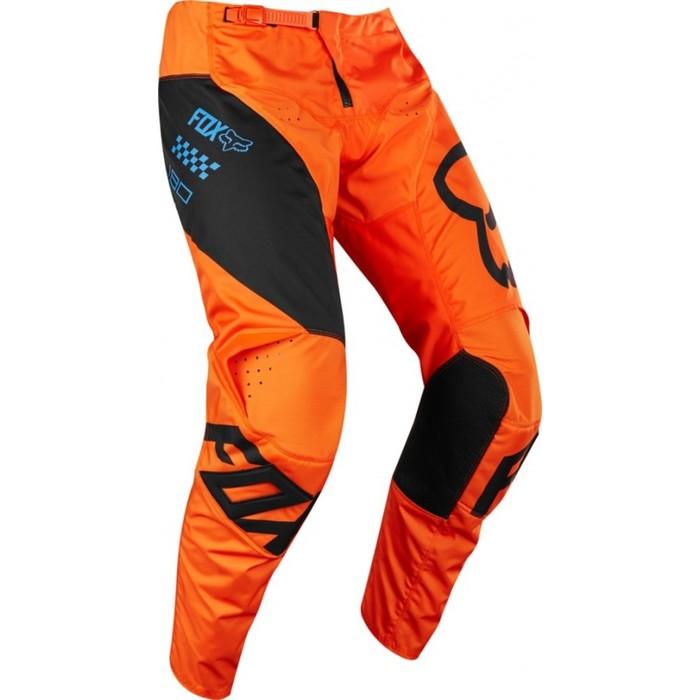 Штаны FOX 180 Мastar Pant, оранжевый, размер 34