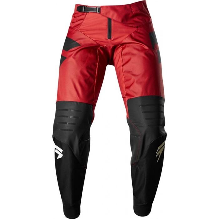 Штаны SHIFT Black Strike Pant, черно/красный, размер 34