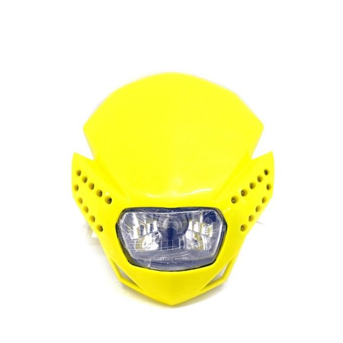 Фара с диодной подсветкой, желтый