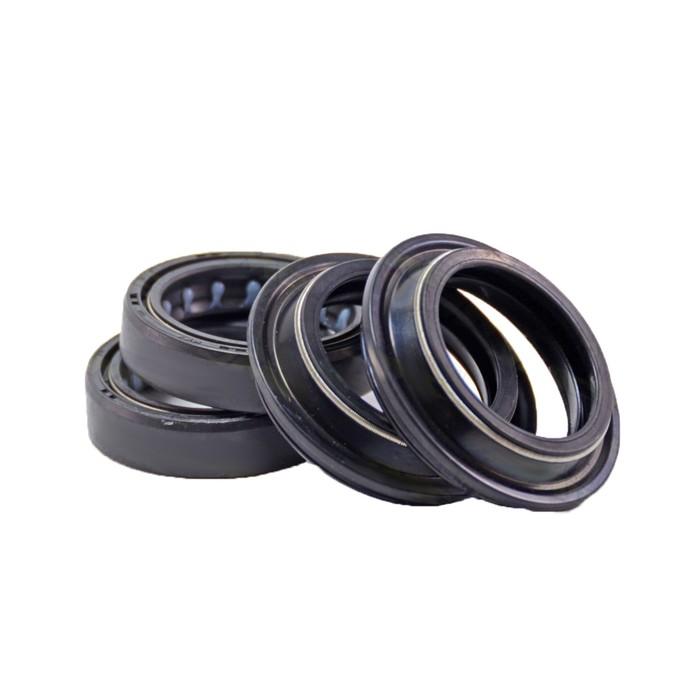 Ремкомплект вилки, JMC, MX 2015, 35х48х11 мм, сальники 2 шт + пыльники 2 шт