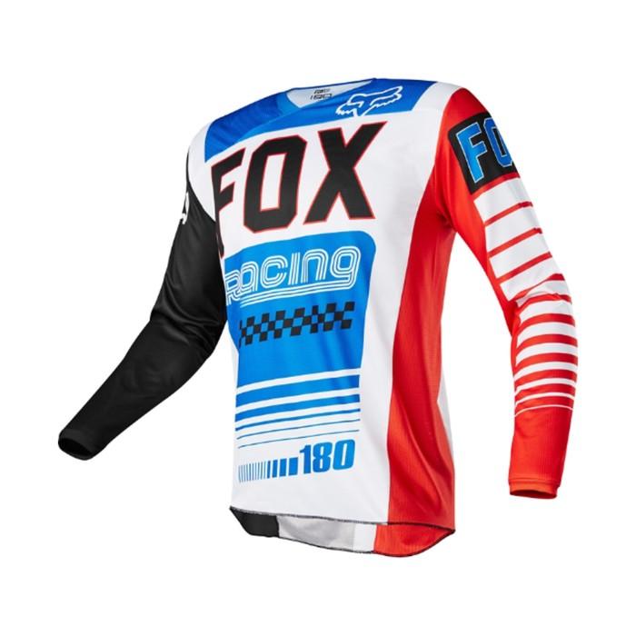 Джерси FOX 180 Fiend SE, сине/красный, размер M