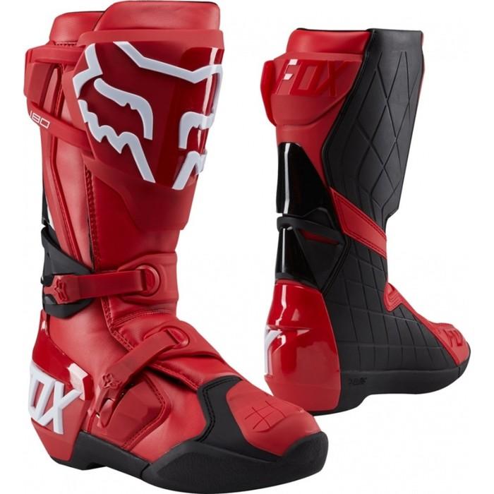 Мотоботы FOX 180 Boot, красный, размер 9