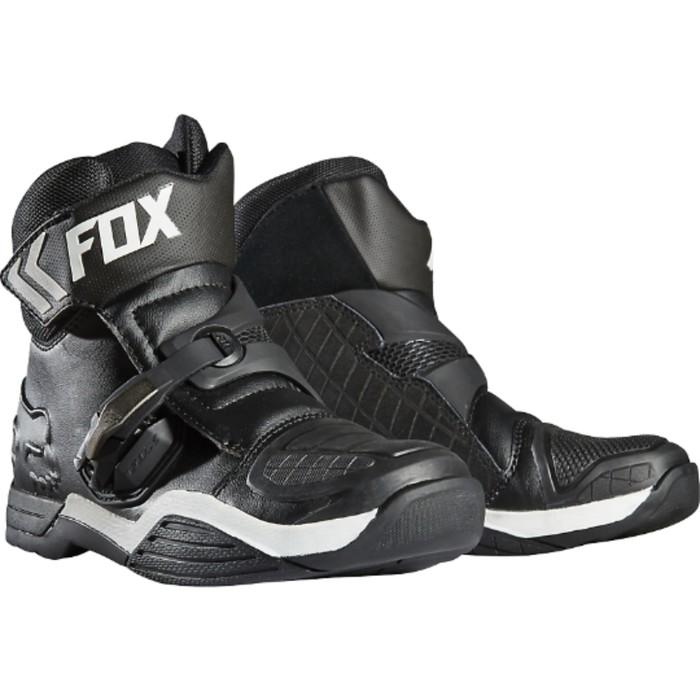 Мотоботы FOX Bomber, черный, размер 9