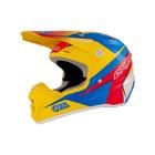 Шлем кросс O'Neal 5 Series RACE, желто/красно/синий, размер L