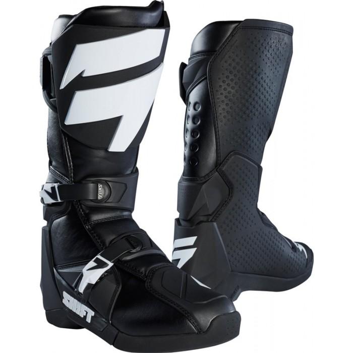 Мотоботы SHIFT White Label Boot, черный,  размер 10
