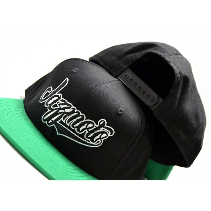 Кепка Jazzmoto, черно-зеленая