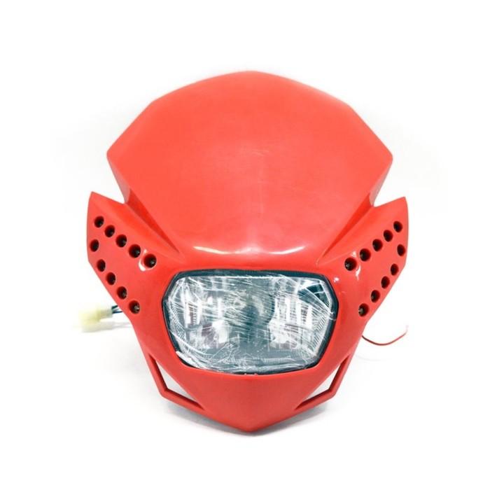 Фара с диодной подсветкой, красная