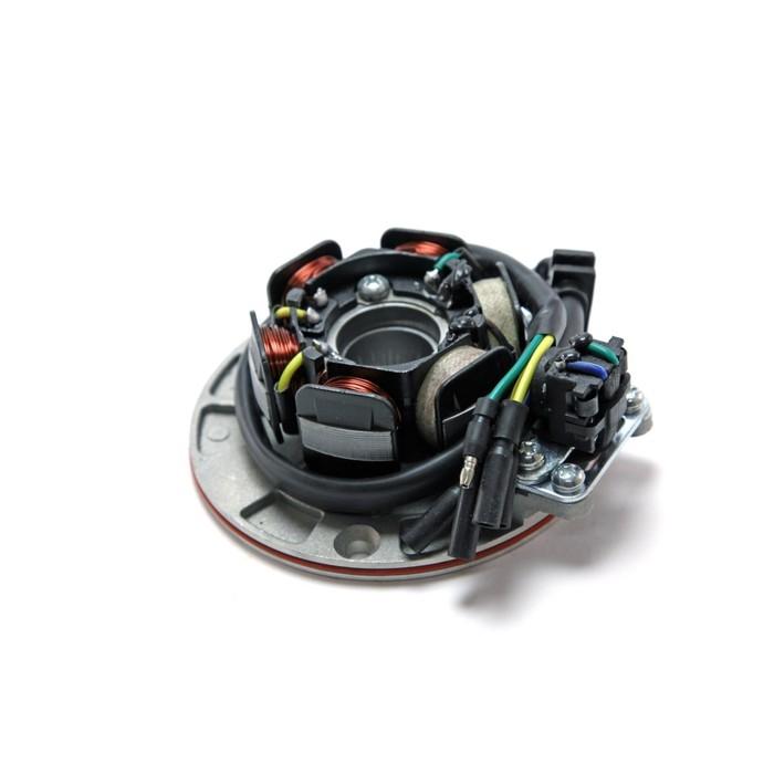 Статор генератора, 6 катушек, 5 контактов, на плате с датчиком импульса, YX 160