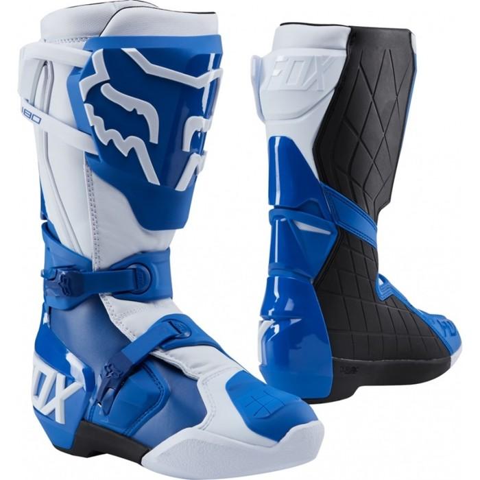 Мотоботы FOX 180 Boot, синий, размер 9