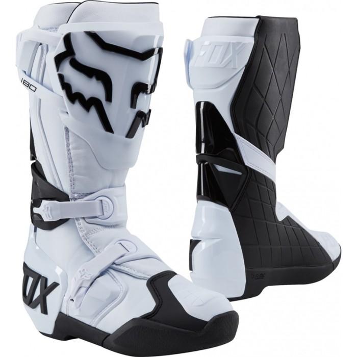Мотоботы FOX 180 Boot, белый, размер 9