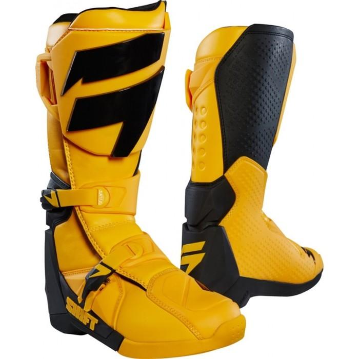 Мотоботы SHIFT White Label Boot, желтый,  размер 9