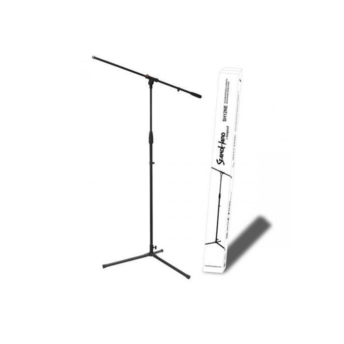 """Стойка микрофонная """"журавль"""" BESPECO SH12NE, высота 970-1560 мм"""