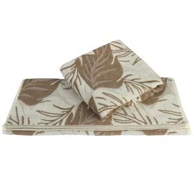 Полотенце Autumn, размер 70 × 140 см, песочный