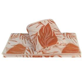 Полотенце Autumn, размер 100 × 150 см, оранжевый