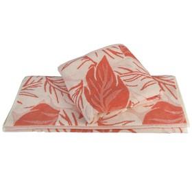 Полотенце Autumn, размер 50 × 90 см, персиковый