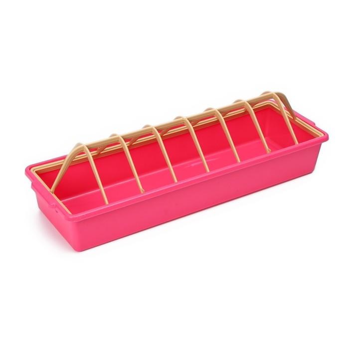 Кормушка-поилка для бройлеров, 12 ячеек, лотковая, пластик