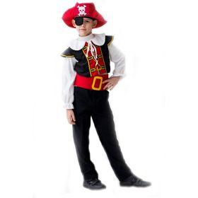 Карнавальный костюм «Отважный пират», 3-5 лет, рост 104-116 см