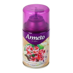 """Освежитель воздуха Armeto """"Ваниль и цветок франжипани"""", сменный балон, 250 мл"""