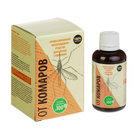Средство от комаров, концентрат, флакон, 50 мл в коробке
