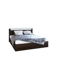 Кровать двуспальная, 1400х850х2000, Венге/Сосна лоредо