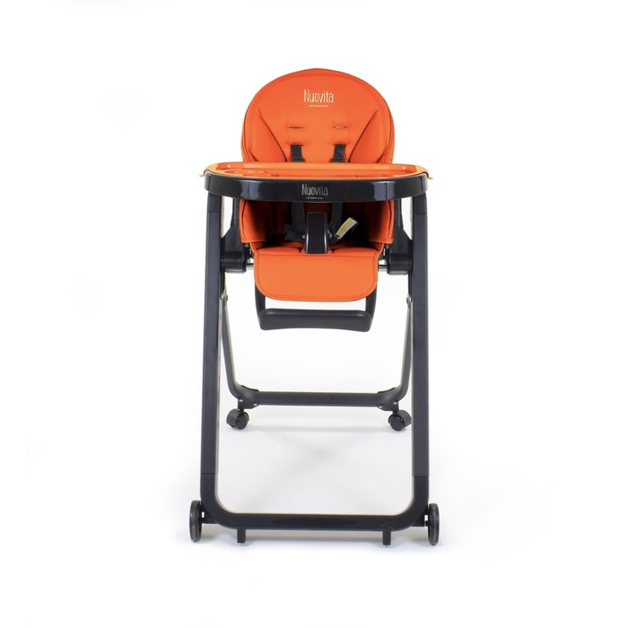 Стульчик для кормления Nuovita Futuro Senso Nero, Arancione/Оранжевый