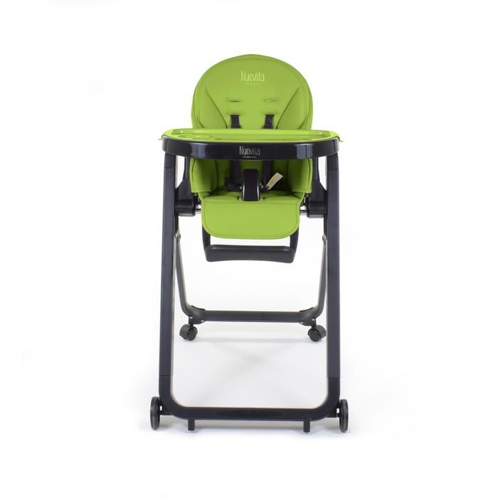 Стульчик для кормления Nuovita Futuro Senso Nero, Verde/Зелёный