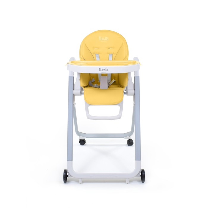 Стульчик для кормления Nuovita Futuro Bianco, Giallo/Жёлтый