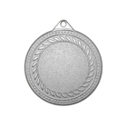 """Медаль призовая """"серебро"""", под нанесение, D-4см (42346)"""