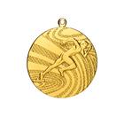 """Медаль тематическая """"Бег"""", золото, D-4см (41460)"""