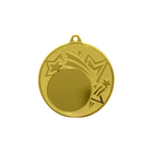 """Призовая медаль под нанесение, """"золото"""", диаметр 4,5 см (40902)"""