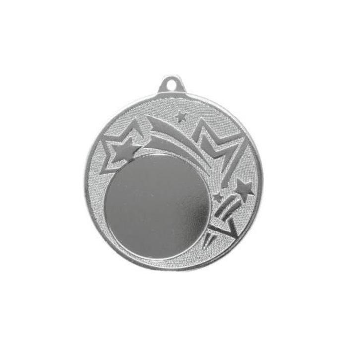 """Медаль призовая """"серебро"""", под нанесение, D-4,5см (41744)"""