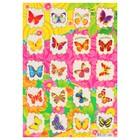 """Наклейки светящиеся """"Цветные бабочки"""" 166х236 мм"""