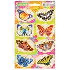 "Наклейки светящиеся ""Яркие бабочки"" 166х236 мм"