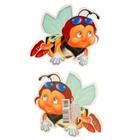 """Украшения на скотче """"Пчелка"""" 100х120мм"""