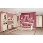 """Комплект мебели для детской """"Алиса 1"""", 3227х961х2340 мм, цвет кремово-белый"""