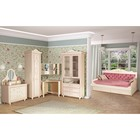 """Комплект мебели для детской """"Алиса 2"""", 2710х1050х2312 мм, цвет кремово-белый"""