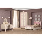 """Комплект мебели для детской """"Алиса 3"""", 3385х1040х2312 мм, цвет кремово-белый"""