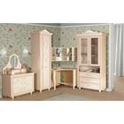 """Комплект мебели для детской """"Алиса 5"""", 3616х1050х2312 мм, цвет кремово-белый"""