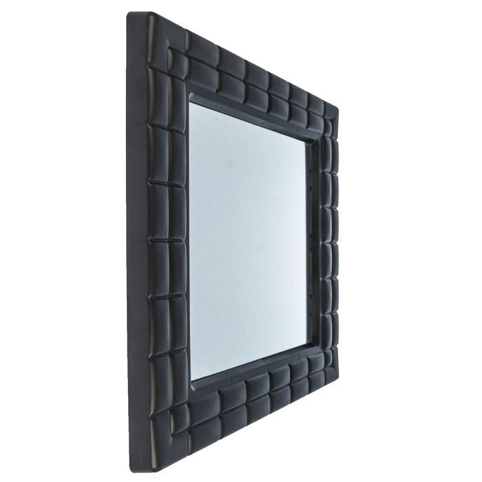 """Зеркало квадратное """"Ника"""", цвет венге"""