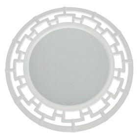 """Зеркало круглое """"Эллада"""", цвет белый"""