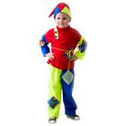 """Карнавальный костюм """"Скоморох"""", трикотаж, колпак, рубаха, пояс, штаны, рост 104-116"""