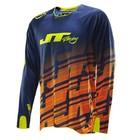 Джерси JT Racing, FLEX BKOR, сине/оранжевый, размер M